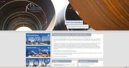 Homepage Rostock Business